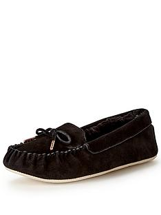 ted-baker-koizu-black-suede-moccasin-slipper