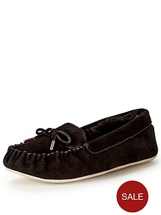 ted-baker-koizu-black-suede-moccasin-slipper