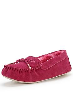 ted-baker-koizu-pink-suede-moccasin-slipper