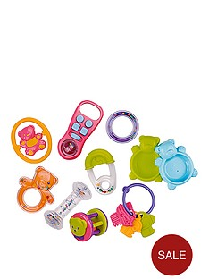 small-wonders-small-wonders-10-piece-infant-toy-set