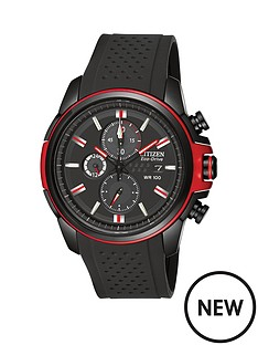 citizen-chronograph-polyurethane-strap-mens-watch