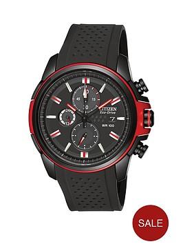 citizen-chronograph-polyurethane-strap-mens-watch