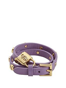 juicy-couture-double-wrap-screw-dried-lavender-leather-bracelet