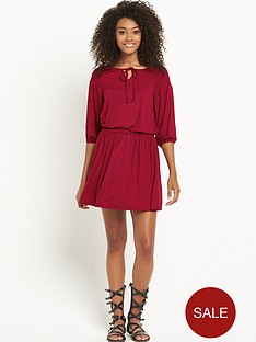 south-shirred-waist-jersey-boho-dress