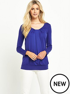 south-ls-pleat-front-jersey-topnbsp
