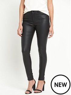 vero-moda-seven-smooth-coated-slim-leg-jean