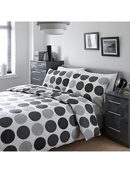 Century Spot Bedding Collection  King Size Duvet Cover Set