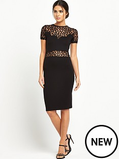 french-connection-animal-lace-dress