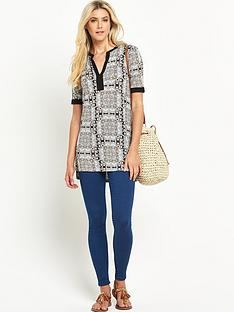 south-printed-mandarin-collar-jersey-tunic