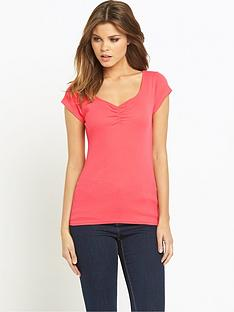 south-sweetheart-ribbed-jersey-t-shirtnbsp