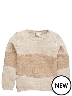 name-it-girls-metallic-knit-jumper