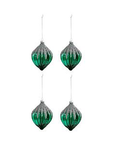 peacock-sparkle-glass-glitter-baubles-set-of-4