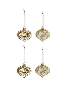laurence-llewelyn-bowen-laurence-llewelyn-bowen-champagne-gold-eleganza-baubles-ndash-set-of-4