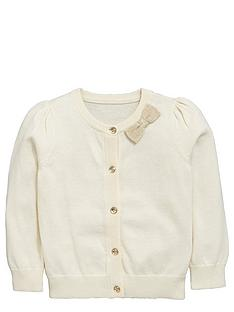 ladybird-toddler-girls-occasion-cream-cardigan-with-lurex-bow-1-7-years