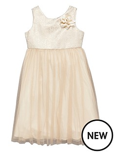 ladybird-girls-jacquard-occasion-dress-with-corsage-5-16-years