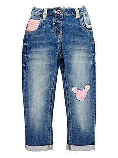 ladybird-girls-appliquenbspjeans-12-months-7-years