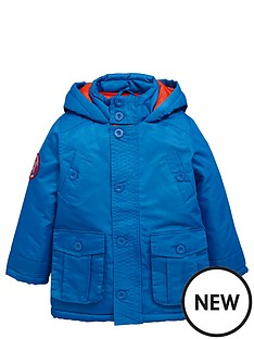 ladybird-boys-hooded-coat-with-applique-badge