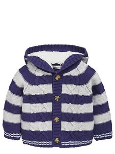 ladybird-baby-boys-striped-cable-knit-cardigan