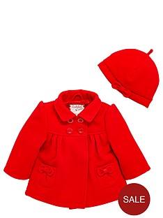 ladybird-baby-girls-coat-amp-beret-set-2-piece