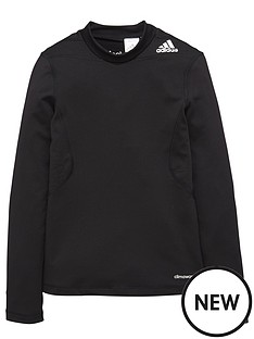 adidas-adidas-junior-tech-fit-warm-long-sleeve-baselayer-mock