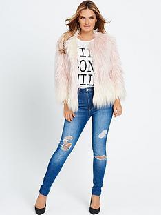 samantha-faiers-ombre-faux-fur-jacket