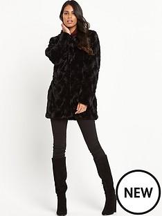 vero-moda-curl-faux-fur-jacketnbsp