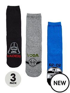 star-wars-boys-socks-3-pack