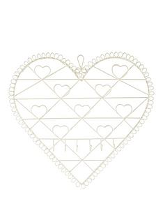 vintage-chic-heart-memo-board