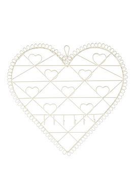 vintage-chic-heart-memo-board