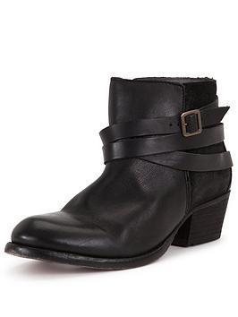 hudson-horrigan-black-leather-buckle-ankle-boot