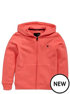 hurley-hurley-youth-girls-core-fleece-fz-hoody