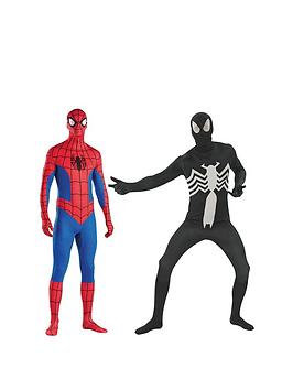 marvel-spiderman-2nd-skin-twin-pack-adults-costume