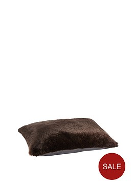 small-faux-fur-pet-bed--chocolate