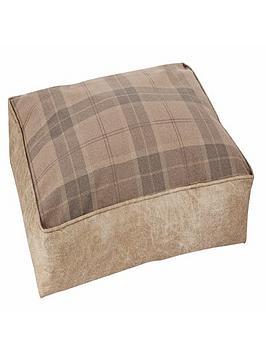 small-tartan-pet-bed