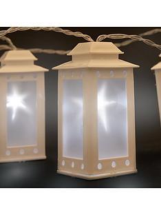 10-white-led-plastic-lanterns-string-light