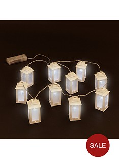 10-white-led-plastic-lanterns-string-light