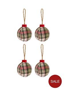 tartan-ball-christmas-tree-decorations-4-pack