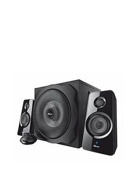 Trust Tytan 2.1 Subwoofer Speaker Set with Bluetooth&reg  Black