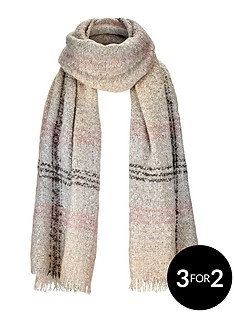 pastel-bobble-check-scarf