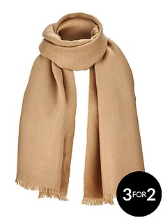 solid-colour-blanket-scarf