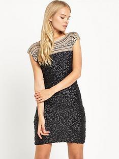 miss-selfridge-beaded-premium-dress