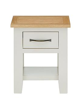 Luxe Collection  Chelsea Painted Ready Assembled Lamp Table