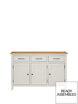 luxe-collection-chelsea-painted-ready-assembled-large-sideboard-with-oak-top