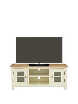 Luxe Collection  London Painted Ready Assembled Tv Unit  Fits Up To 50 Inch Tv