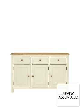 london-ready-assembled-large-cream-sideboard-with-oak-top