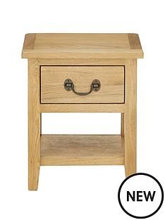 london-solid-oak-lamp-table