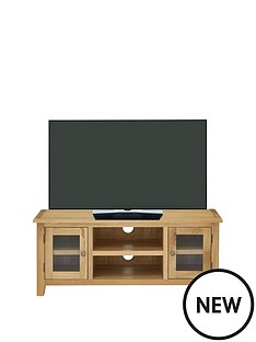 london-solid-oak-ready-assembled-tv-unit--holds-up-to-50inch-tv