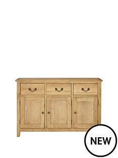 london-solid-oak-large-sideboard