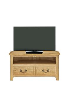 london-solid-oak-ready-assembled-corner-tv-unit--holds-up-to-38inch-tv