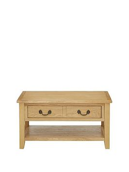 Luxe Collection Luxe Collection - London Oak Storage Coffee Table Picture